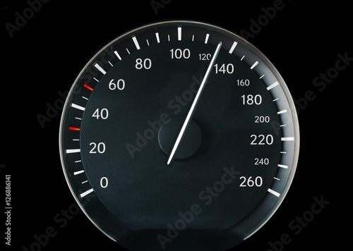 Poster Speedometer of a car
