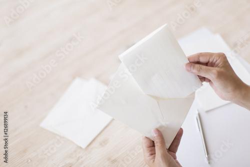 手紙を出す