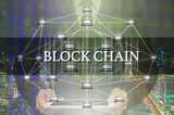 Block chain Text and Distributed computer network with Businessm