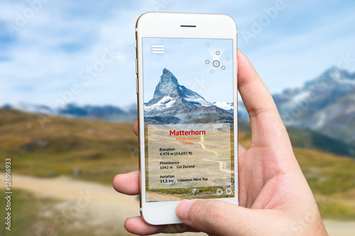Poster Augmented reality marketing and travel 4