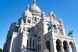 Views of Montmartre and the Sacre Coeur Church, Paris, France