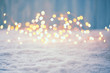 Quadro Christmas Bokeh Background
