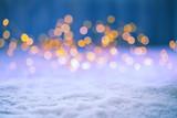 Fototapety Christmas Bokeh Background