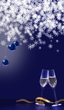 Lets have a toast to celebrate the start of a new year
