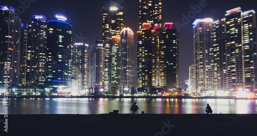 Fotobehang Seoel Busan Skyline