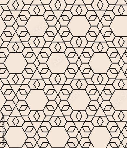 Fototapeta pattern with hexagon