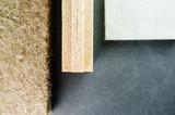 compressed thermal insulating hemp fiber panels - 127073147