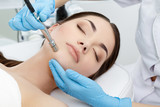 Fototapety Procedure of Microdermabrasion