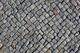 Kopfsteinpflaster eines Gehwegs - 127099378
