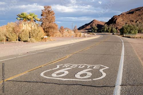 Plexiglas Route 66 La Route 66