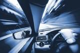 Car Speeding Concept