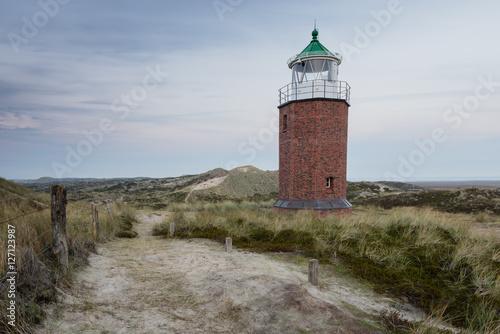 Sylt Kampen Leuchtturm Wattenmeer