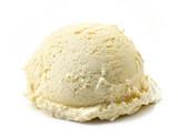 vanilla ice cream ball