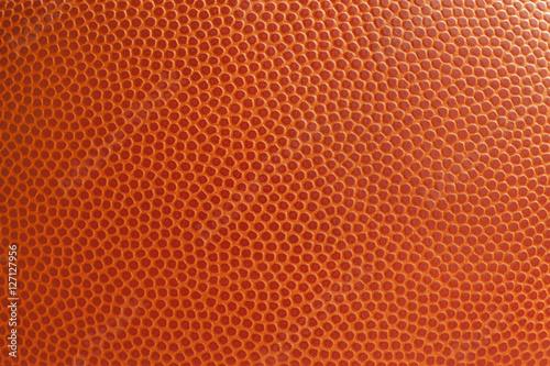 Basketball texture close up