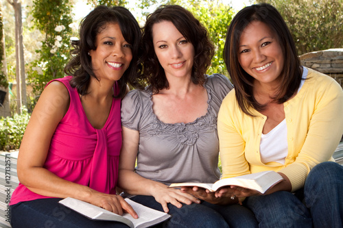 Small group of women.