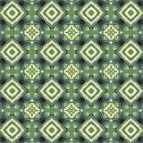декоративный графический узор зеленый