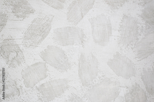 Poster Gray wall cement paint texture background
