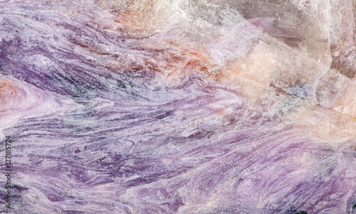charoite stone lilac macro texture