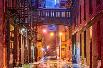 Tribeca Alley in New York © SeanPavonePhoto