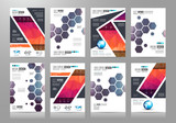 Set of Brochure templates, Flyer Designs or Depliant Covers