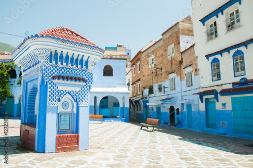 Papiers peints Maroc Chefchaouen is a city in the Rif Mountains of northwest Morocco. It's known for the striking, variously hued blue-washed buildings of its old town.