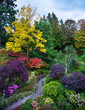 The gardens on Vancouver Island
