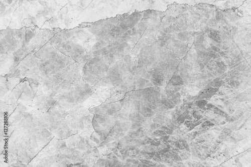 White Luxury Marble Surface, detailed structure of marble black and white for design - 127288106