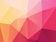 pink yellow low poly background