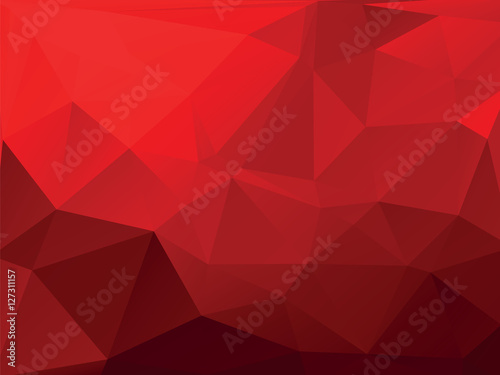 red geometric background