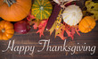 Fall / Autumn deocorations. Thanksgiving theme