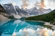 Moraine Lake in Banff National Park