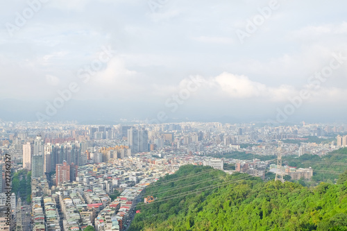 Beautiful cityscape of taipei ,Taiwan Poster