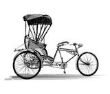 Indian rickshaw cycle - 127362799