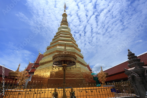 Poster Wat Phra That Cho Hae in Phrae Thailand