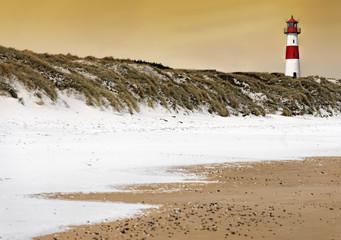 Fototapeta morze północne zimą