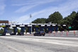 New Jersey Turnpike Toll Plaza. Horizontal.