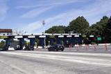 New Jersey Turnpike Toll Plaza. Horizontal. - 127432517