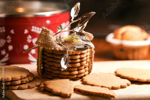 Poster christmas homemade cookies