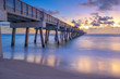 Juno Beach Florida Early Morning Smooth Waves