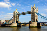 Fototapeta Bridge - Tower Bridge, London, England,UK © vicky jirayu