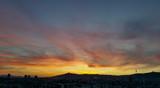 Cirrus Sunset, Barcelona