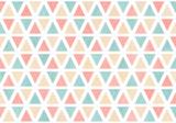 Fototapety Watercolor triangle pattern.