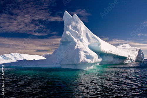 Papiers peints Antarctique Antarctic Ice bergs