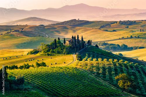 Foto op Aluminium Toscane Tuscany, Italy. Landscape