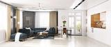 modern  living room - 127494119