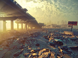 Apocalyptic landscape - 127494170