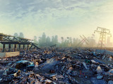 ruins of a city - 127494173