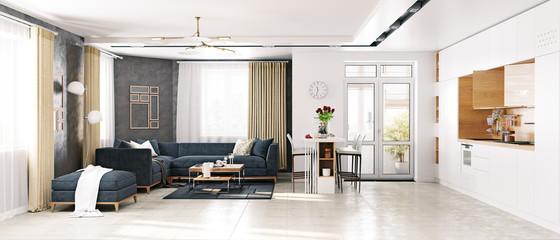modern  living room © victor zastol'skiy