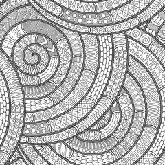 Doodle background in vector with doodles