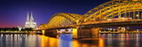 Köln Dom mit Brücke - 127516730
